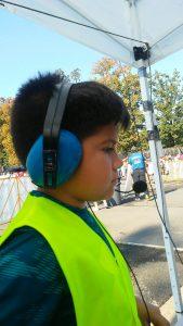 Erik, KK4SOK, had son Diego helping net control