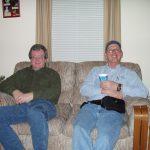 2004 OVH XMAS PARTY - KEITH KM4AA AND JOHN WA1STU