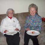 2004 OVH XMAS PARTY - Oma and Hanna Dugas