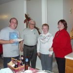 2004 OVH XMAS PARTY - John and Theresa H and her parents Don and MaryAnn