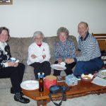 2004 OVH XMAS PARTY - Ev, Oma, Hanna and Al