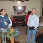 2004 OVH XMAS PARTY - David M and John Z