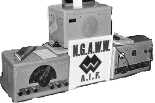 Teleradio 3BZ with receiver, transmitter & power supply