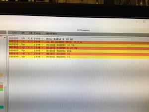 Mark , WA4KFZ, has FT8 contact with John, KG4NXT