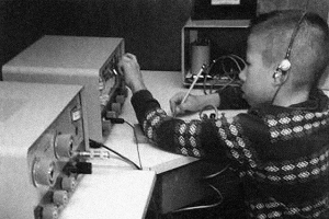 Young Steve Wozniak in his shack. Official website