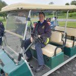 EMT borrows golf cart at rest stop 1