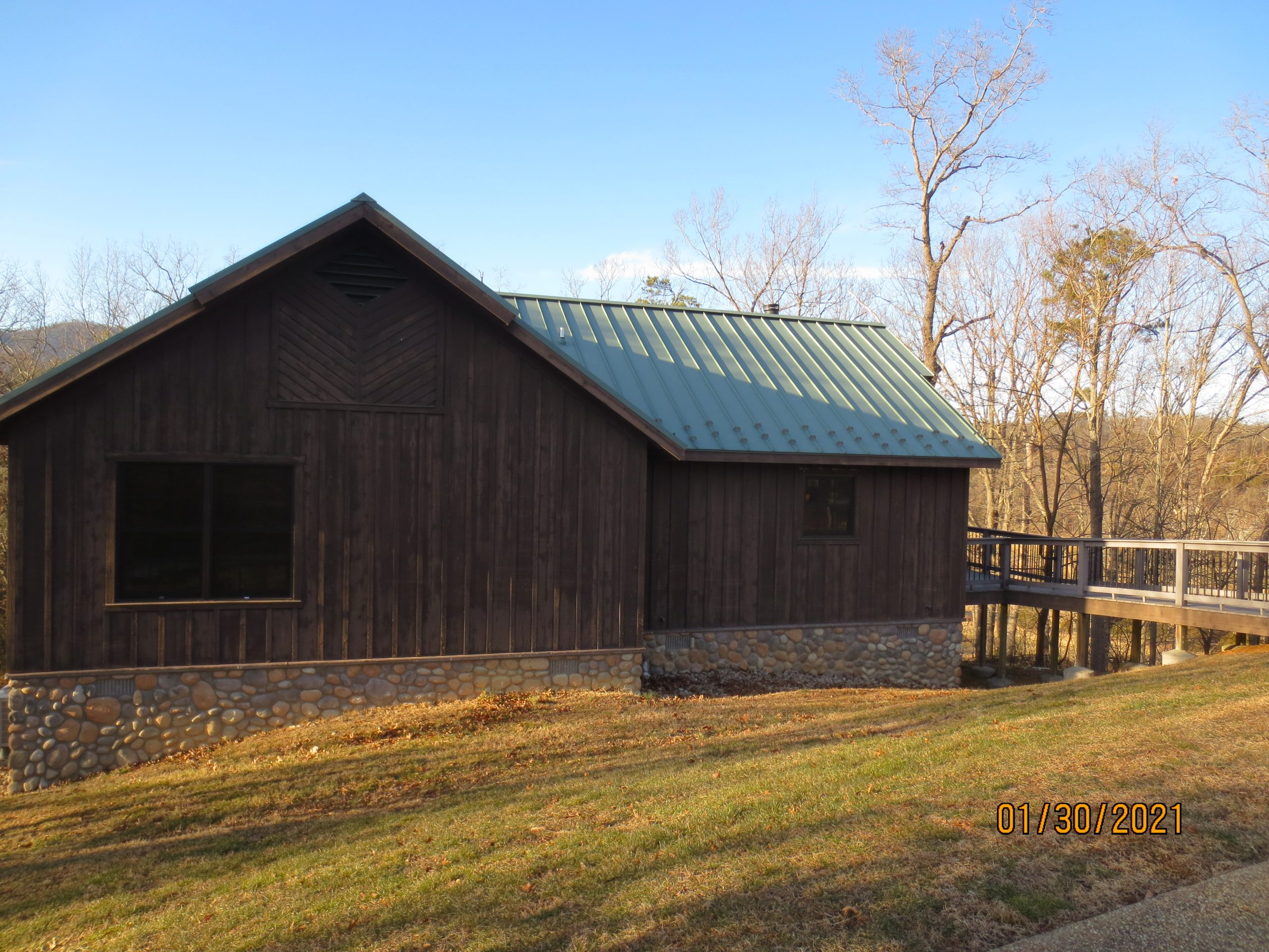 Cabin at Shenandoah River State park where we had winter field day