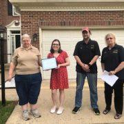 Hannah receives OVH scholarship